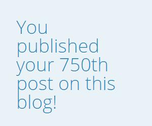 750th Post